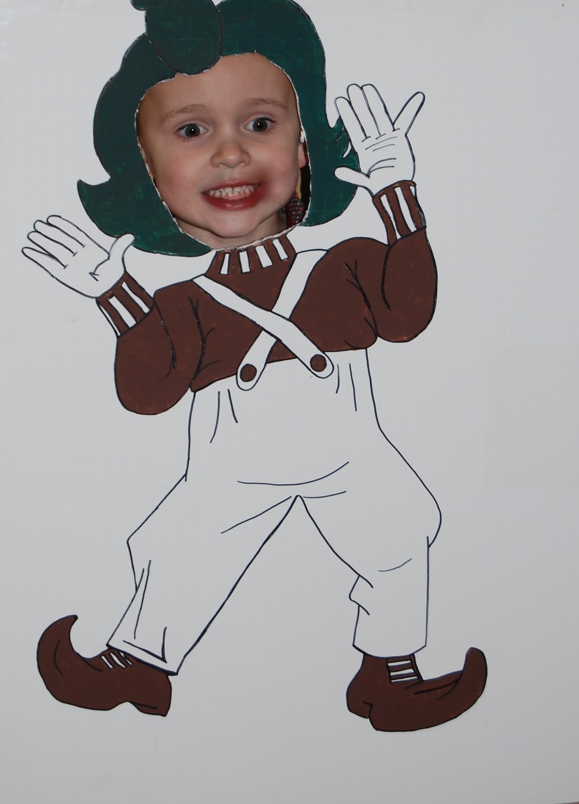 oompa loompa colouring pages page 2