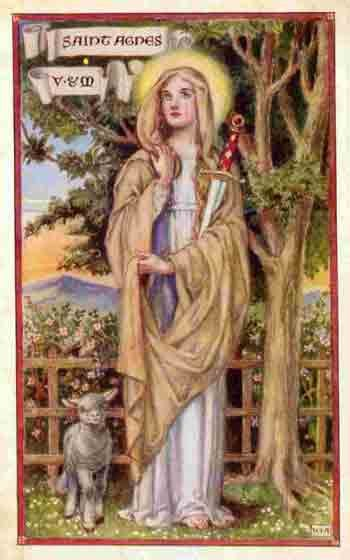 Our Lady's Tears: St. Agnes Of Rome