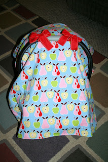 Loveable Chaos Diy Carseat Cover