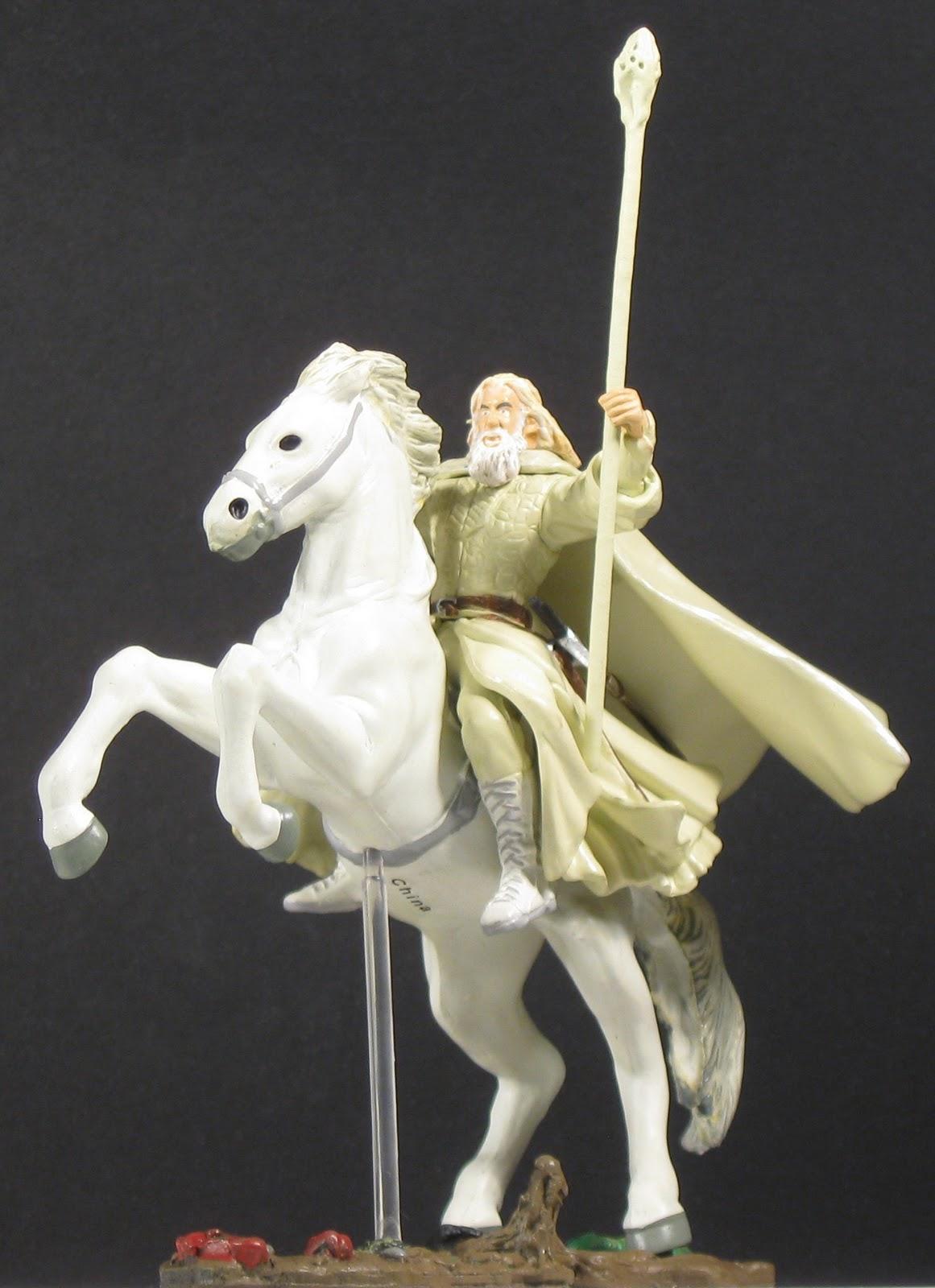 Toys And Stuff Aome Lotr Gandalf On Shadowfax