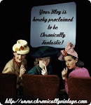 Chronically Vintage Blog Award