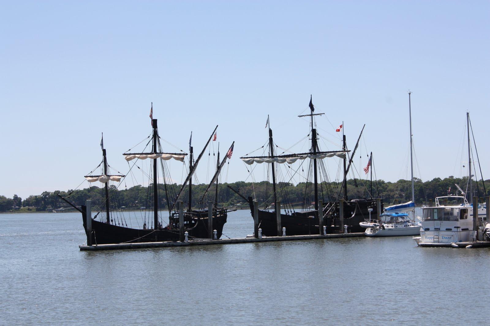 The Jackson House: Christopher Columbus Ships