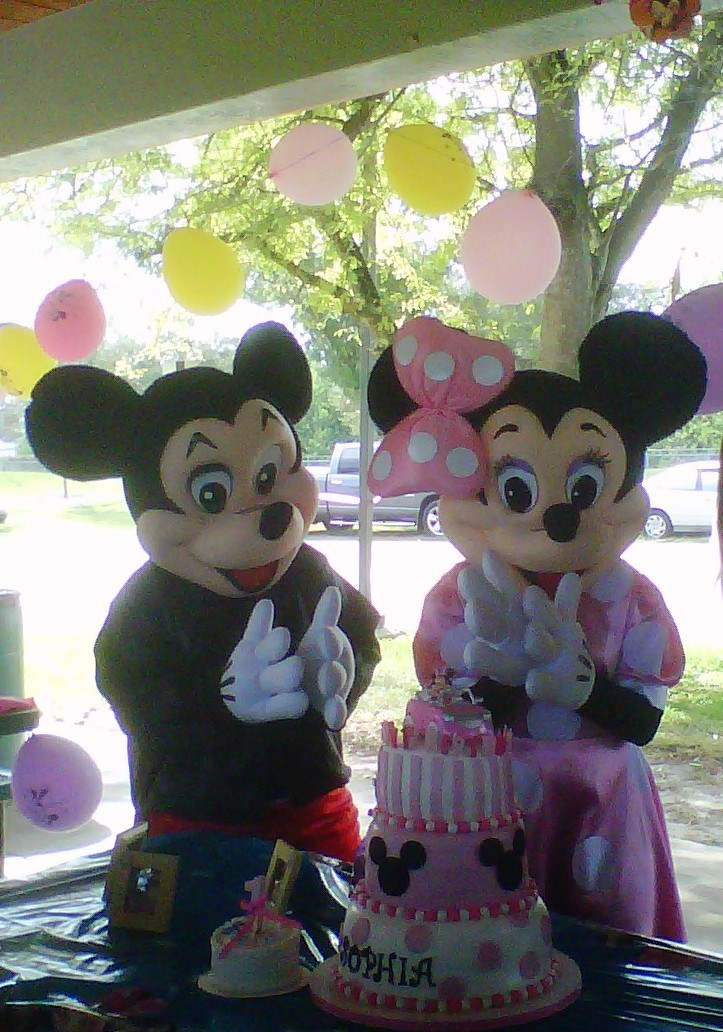 Simplyiced Party Details Minnie Mouse Sophia S 1st