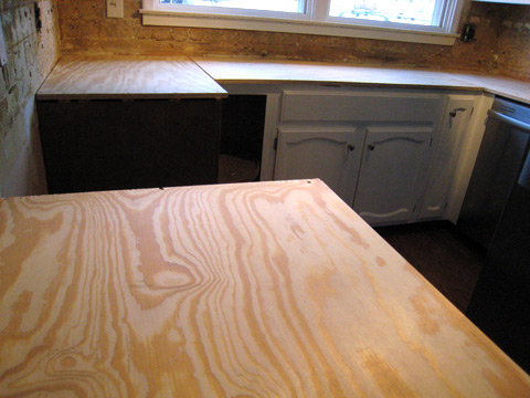 """This Fresh Fossil: Kitchen Countertop Project - Part 3 """"Base"""