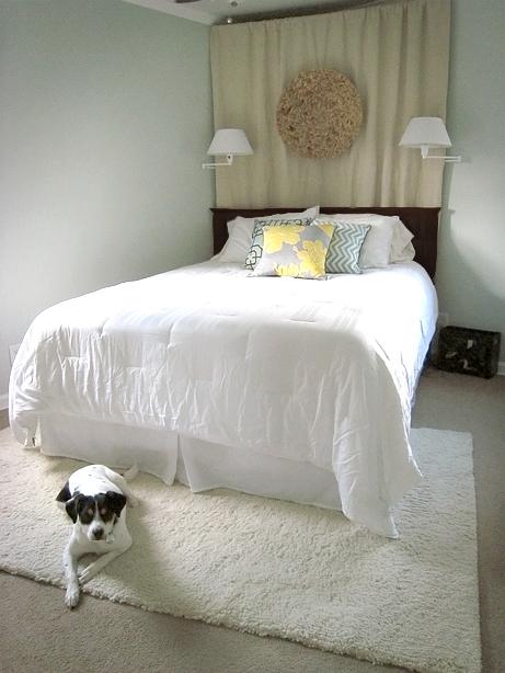This Fresh Fossil: Master Bedroom Remodel: Headboard Redo