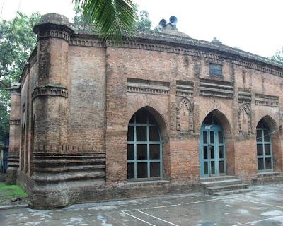 baba adam mosque, munshiganj, bangladesh
