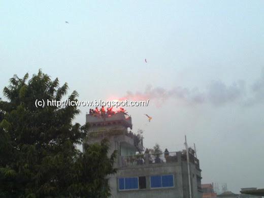 Shakrain celebration in Old Dhaka