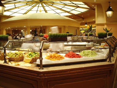 The Buffet at Bellagio is considered by many to be one of the better buffets in Vegas. However, it did not quite live up to the hype nor its price tag when I dined there twice in May. The first time was for the more expensive