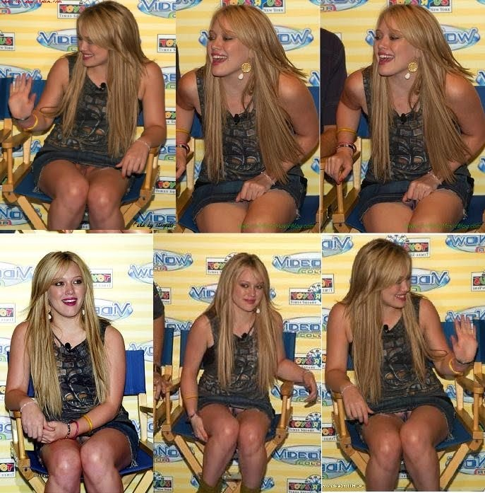 Hilary Duff Upskirt Pics 58