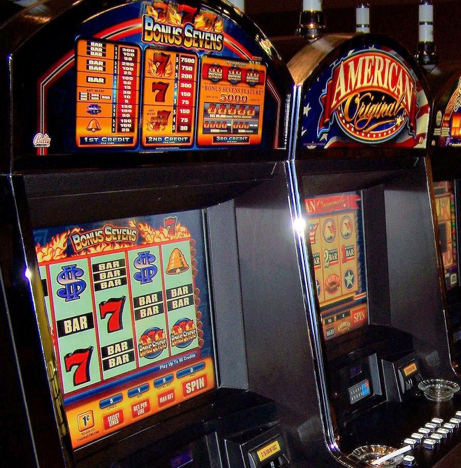Normativa slot machine 2016