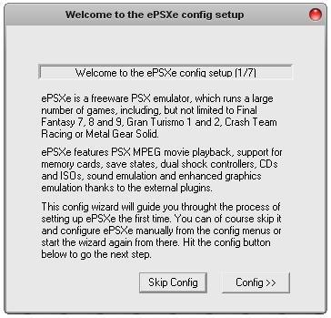 Fala sério!: Tutorial de configuração do ePSXe