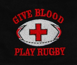1272576c Admiral Cod: Give Blood, Play Rugby