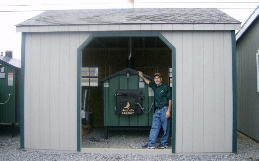 Outdoor Wood Furnaces Hawken Energy Furnace Enclosing