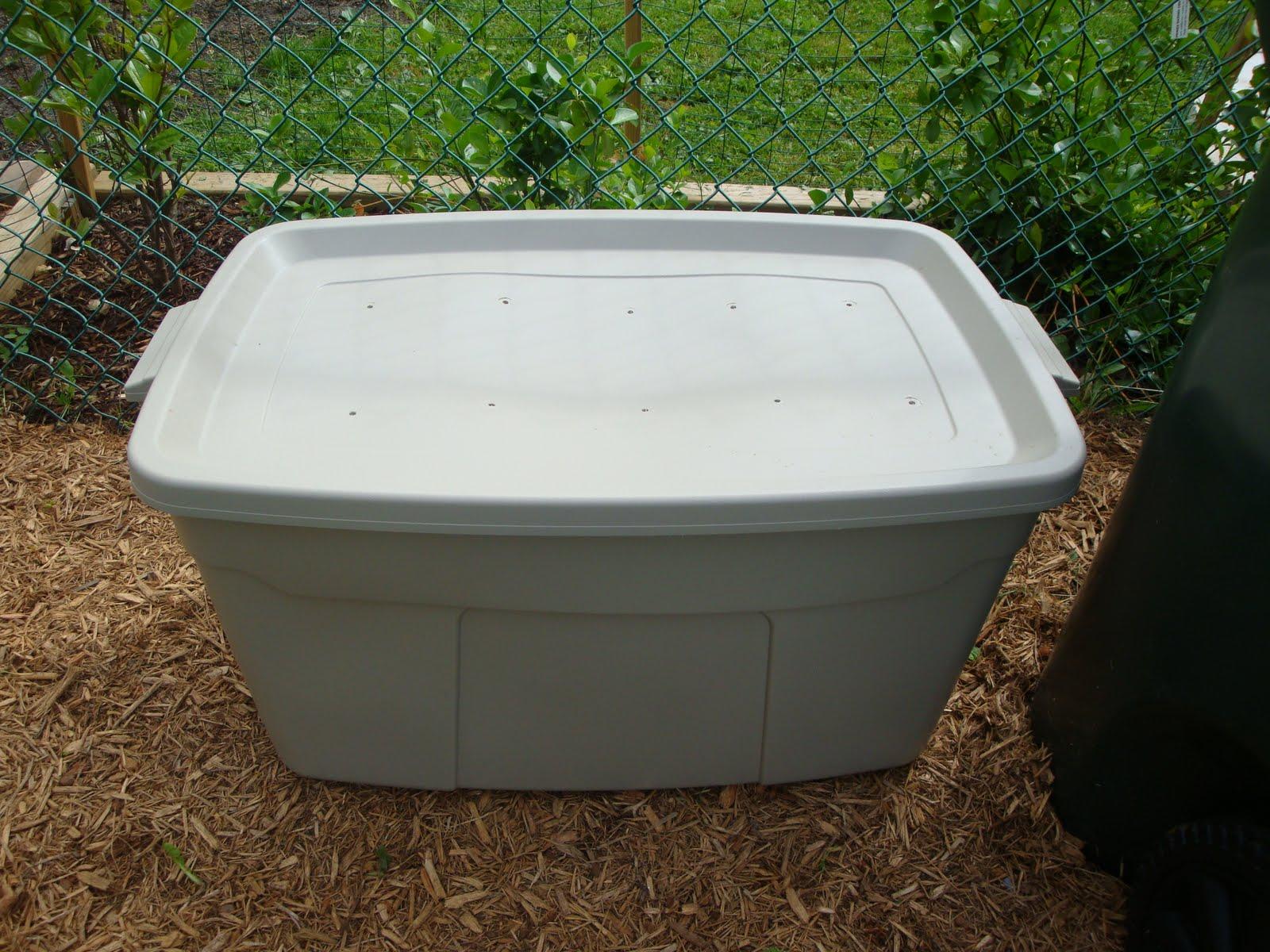 compost bin on the cheap little mac shack
