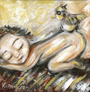 New 8×8 Motherhood Paintings – 3 Little Paintings with Big Titles!