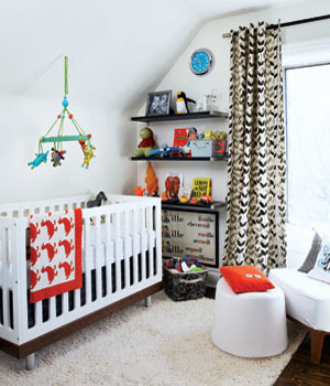 A Mountain Bride Colorful Baby Spaces