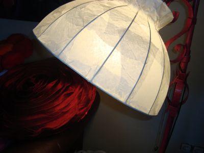 sanias zaubergarten himmlischer lampenschirm. Black Bedroom Furniture Sets. Home Design Ideas