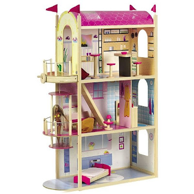 Il piccolo mondo di wonder perlina la casa di barbie for Piscina di barbie