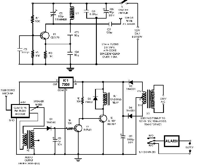 DIGITAL SYSTEMS: 13.Car anti theft wireless alarm.