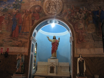 Paintings of Jesus Christ in St.Aloysius Chapel, Mangalore