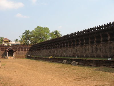 Fort Walls of Thousand Pillar Temple