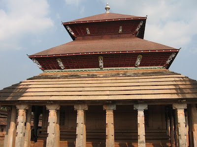 Roofs Of Thousand Pillar Temple