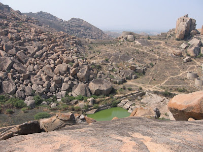 Pond Inside Chitradurga Fort