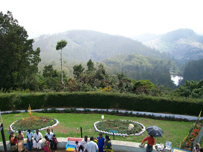 View from Dodda Betta, Ooty