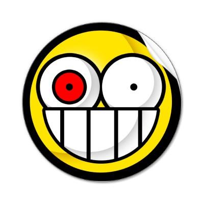 Walmart Smiley Sticker