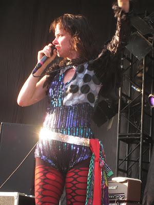 JULIETTE LEWIS, CAT POWER & THE PRETENDERS: Summerstage Central Park NYC