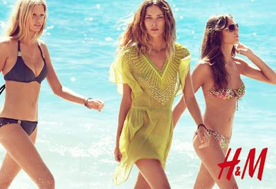 nueva colección primavera verano h&M bikinis