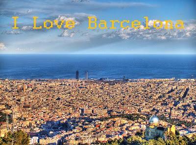 I LOVE BARCELONA...... mi  nuevo blog !