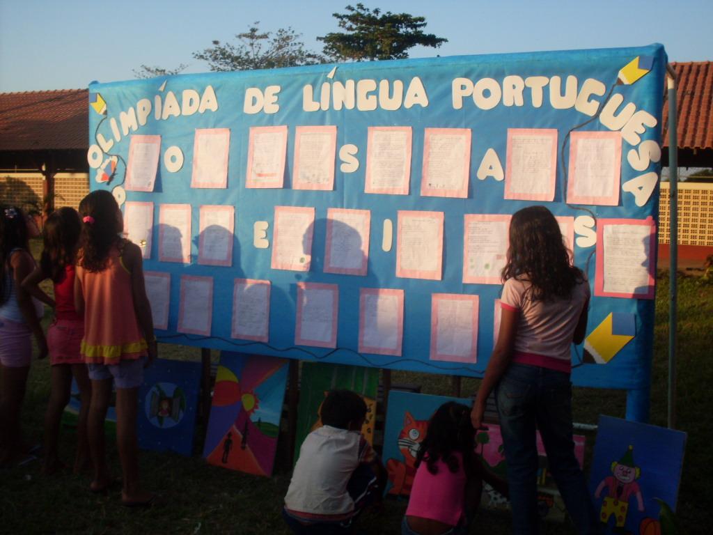 Escola Municipal Irmã Leodgard Gausepohl Produções: LÚCIA : ENSINO E APRENDIZAGEM: Olimpíada De Língua