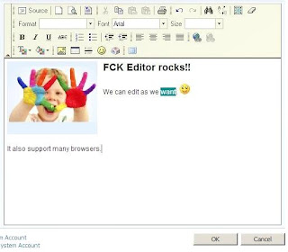FCKEditor in SharePoint (IE & Non-IE) – Anupam Ranku