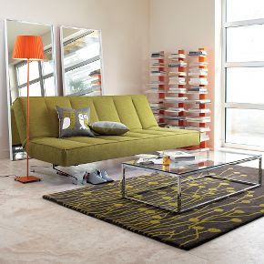 Cb2 Flex Orange Sleeper Sofa Okaycreations Net