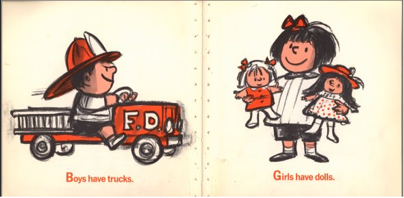 Sexist Children's Book - Go Retro!