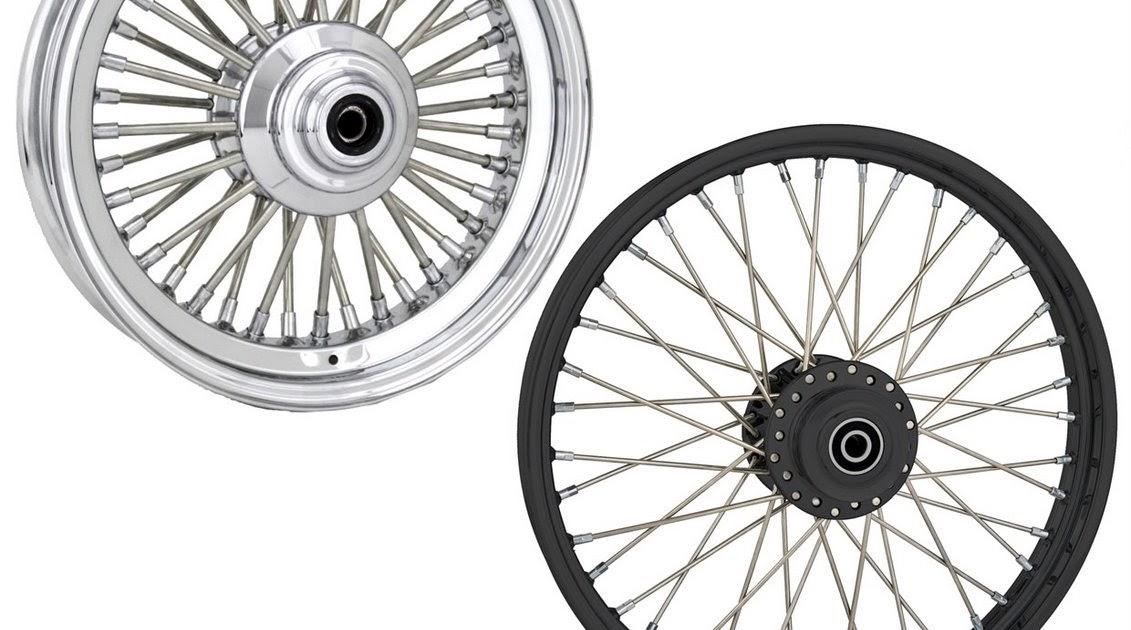 Battistinis Custom Cycles: American Wire Wheels