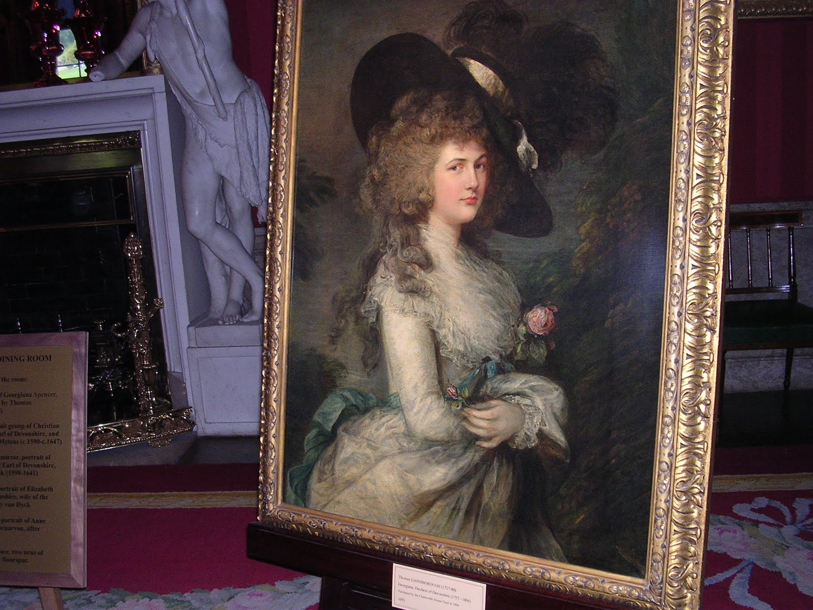 Duchess of Devonshire Stolen! – Number One London