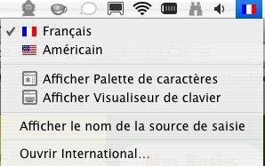 accents français sur clavier anglais