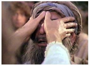 Resultado de imagem para O cego bartimeu Biblia on line