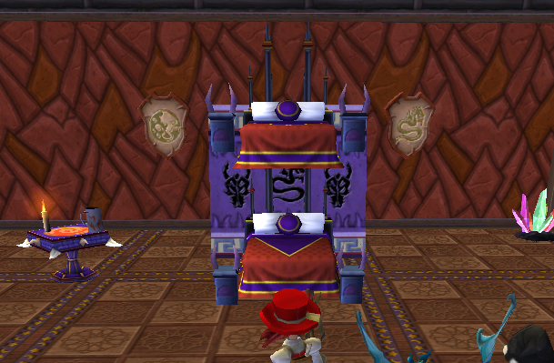 Paige's Page: BunkBeds Wizard101 Style
