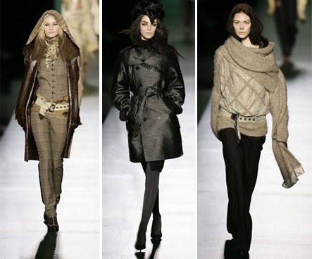 Winter clothing - women's fashion