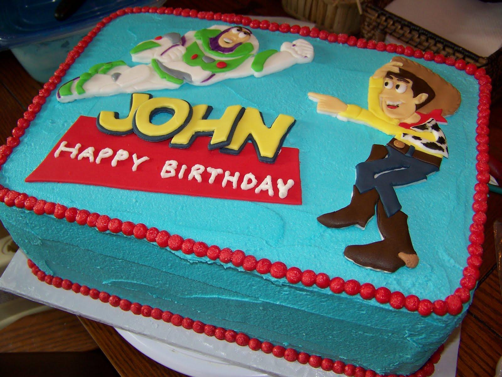 Plumeria Cake Studio Toy Story Birthday Cake
