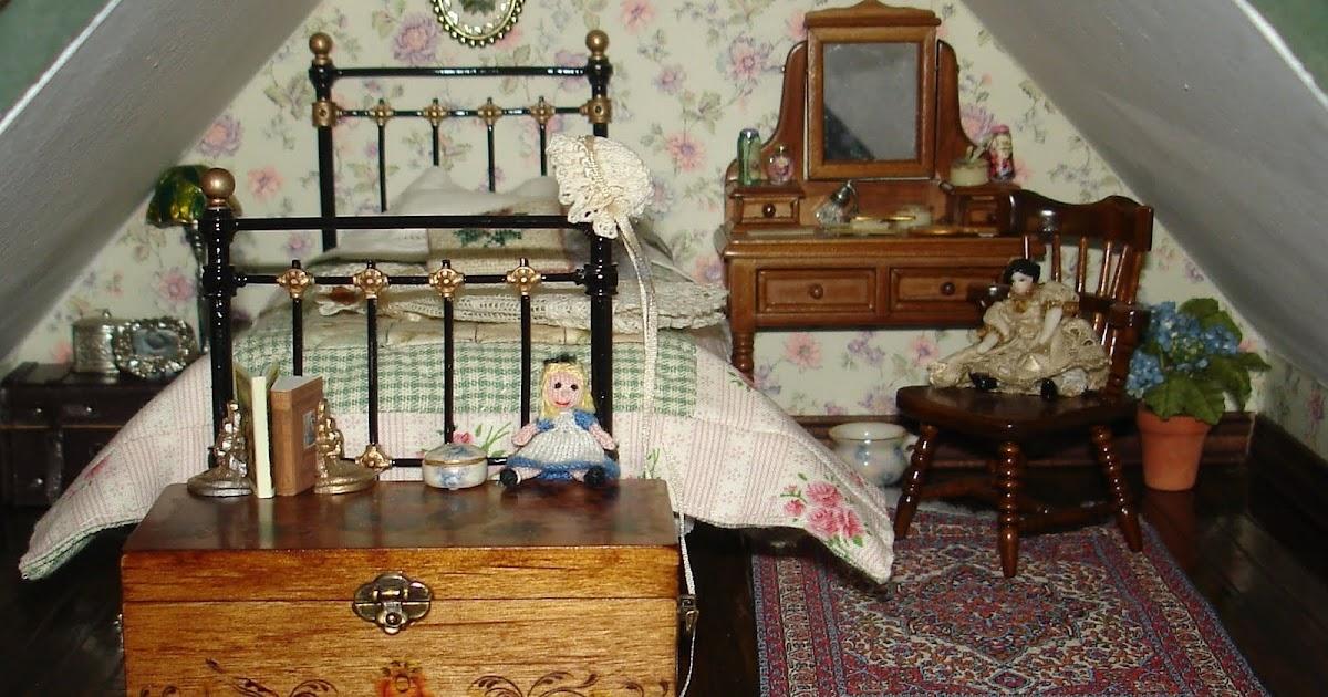 Carolyn S Little Kitchen First Dollshouse Bedroom