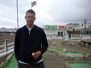 Crazy Golf course in Brighton