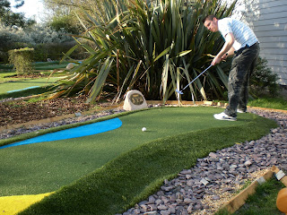 Mini Golf at the Metro Golf Centre in Barnet, London