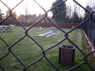 Crazy Golf at Headington's Bury Knowle Park