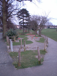 Mini Golf at Woodlands Park in Gravesend, Kent