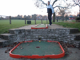 Crazy Golf at Woodlands Park, Gravesend, Kent