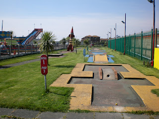 Crazy Golf at Fantasy Island on Canvey Island